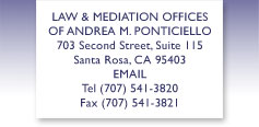 Sonoma County Family Law Attorney